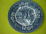 Portelan englezesc Royal Tudor Ware, deosebita farfurioara