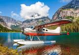 Puzzle Castorland 500 Bjoern Schmitt: FLOATPLANE ON MOUNTAIN LAKE