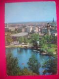 HOPCT 44251 KARLSRUHE IN 1960 -KRUGER-GERMANIA-STAMPILOGRAFIE-CIRCULATA, Printata