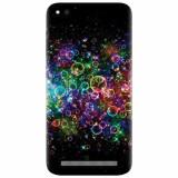 Husa silicon pentru Xiaomi Redmi 5A, Rainbow Colored Soap Bubbles