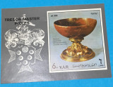 YEMEN 1972 ARTĂ - BLOC NEŞTAMPILAT MNH, IMPERF