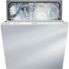 Masina de spalat vase incorporabila Indesit DIF14B1, 13 seturi, 4 programe, clasa A+, 60 cm