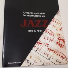 Marius Popp Armonia aplicativa in improvizatia de Jazz Pop & Rock