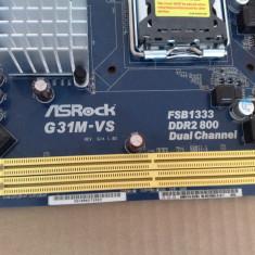 Placa de baza ASRock G31M-VS  socket 775