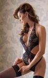Body Sexy Silvia, Negru, S-L