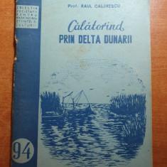 calatorind prin delta dunarii din anul 1954