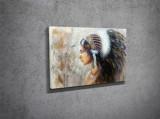 Tablou decorativ pe panza Majestic, 257MJS1237, Multicolor