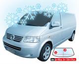 Husa parbriz impotriva inghetului pentru masini tip VAN 90x150-175cm Kft Auto