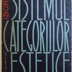 SISTEMUL CATEGORIILOR ESTETICE de I. B. BOREV , 1963