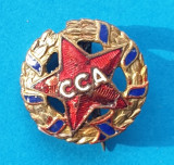 Insigna veche de Fotbal CCA - Steaua Bucuresti - Rara