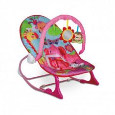 Scaun stabil pentru bebe Roz