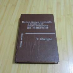 T. SBENGHE--RECUPERAREA MEDICALA A SECHELELOR POSTTRAUMATICE ALE MEMBRELOR