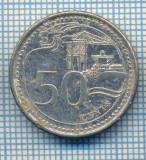 AX 550 MONEDA- SINGAPORE - 50 CENTS -ANUL 2013 -STAREA CARE SE VEDE, Africa