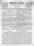ALLGEMEINE ZEITUNG AUGSBURG 1845 1 ianuarie-19 februarie 50 de numere