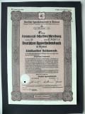 Titlu De Stat Obligatiune Germania 1941-500-Reichsmark