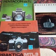 Brosuri Hasselblad, Pentacon, Praktica