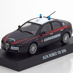 Macheta Alfa Romeo 159 Carabinieri 2006 - Altaya 1/43