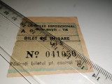 Cumpara ieftin BILET VECHI -COMPLEX EXPOZITIONAL TIB