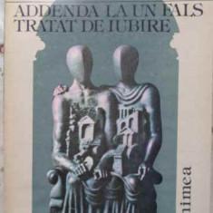 ADDENDA LA UN FALS TRATAT DE IUBIRE - HORIA ZILIERU