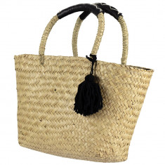 Handmade Natural Seagrass Large Handbag