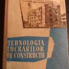 Tehnologia Lucrarilor De Constructii - Negru R, Bogdan N., Tomsa F., Ileana N., Popp. D.,547651