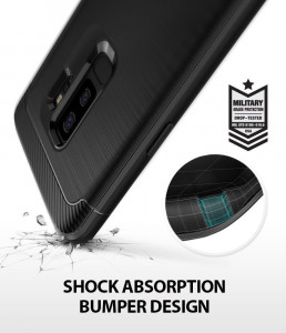 Husa Premium Ringke Onyx Samsung S9 Plus Negru