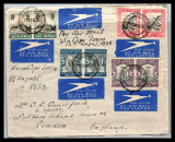 South Africa 1938 Postal History Rare Cover Cape Town - London D.1091