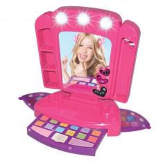Set trusa machiaj cu oglinda Make-up Beauty Set, 2 x AA, 3 ani+