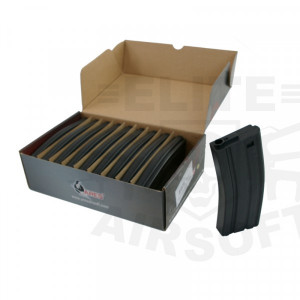 Incarcator M4/M16 polimer 140BB - Negru [ARES]