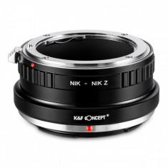 K&F Concept NIK-Nik Z adaptor montura de la Nikon F la Nikon Z6 Z7 KF06.372