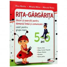 Rita-Gargarita 5-6 Ani Ed. 2011 - Alice Nichita, Mihaela Mitroi