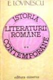 Istoria literaturii romane contemporane, vol. III