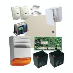 Kit profesional de alarma la efractie DSC cu sirena exterioara