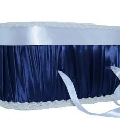 Cutie eleganta pentru botez-NN CEB9B, Bleumarin