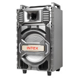 Sistem portabil BT Intex, radio FM, USB, bluetooth 2.1, 100 W