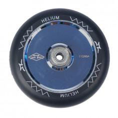 Roata Trotineta AO Helium 110mm polished silver + Abec 9
