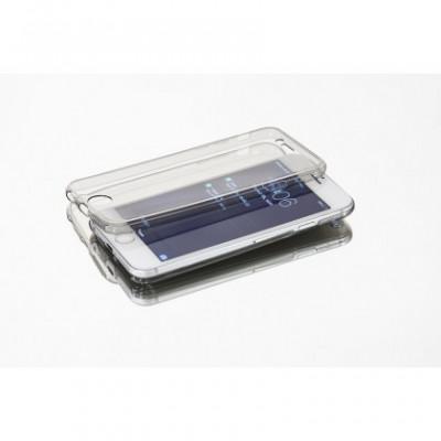 Husa 2 in 1 Ultra Slim Samsung A202 Galaxy A20e Clear foto