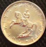 Moneda 5 LIRE - TURCIA, anul 1982  *cod 15 = UNC, Europa, Aluminiu