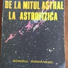 De la mitul astral la astrofizica – Titus Filipas