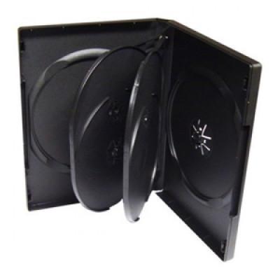 Carcasa plastic pentru 5 DVD-uri foto