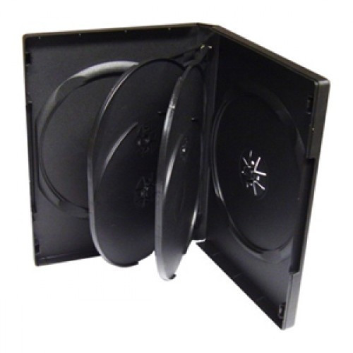 Carcasa plastic pentru 5 DVD-uri