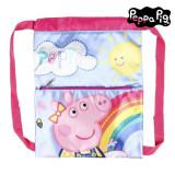 Geantă rucsac pentru copii Peppa Pig Roz Albastru