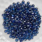 Safire albastre naturale