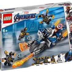 LEGO Marvel Super Heroes - Captain America: Atacul Outriderilor 76123