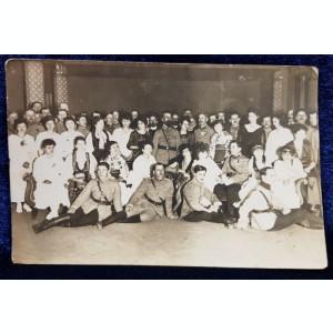 Amintire dela petrecerea primului an nou 1919 in Romania Mare, Tg. Mures - Fotografie originala