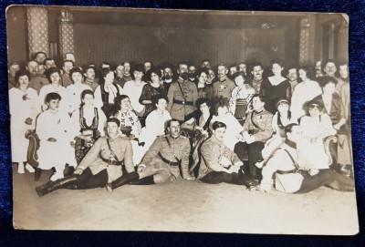 Amintire dela petrecerea primului an nou 1919 in Romania Mare, Tg. Mures - Fotografie originala foto