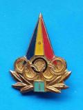 Insigna sport Romania Olimpica Olimpiada Cercuri Olimpice, Categoria I a