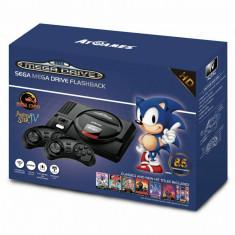 Consola Sega Mega Drive Flashback, cu 85 de jocuri , 720px HDMI, negru