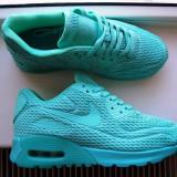Sneakersi/Adidasi dama Nike Air Max 90 Ultra BR-Marimea 37,5-Interior 23,5cm, 37.5, Turcoaz