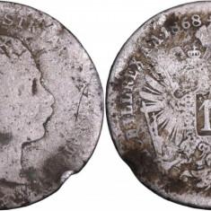 1868 - 10 kreuzer - Franz Joseph I - Imperiul Austro-Ungar